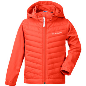 DIDRIKSONS Briska Jacket Kids, poppy red